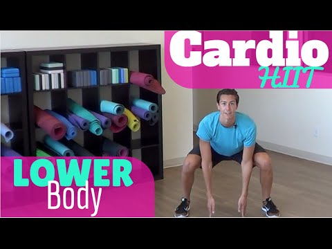 Lower Body Cardio HIIT Workout