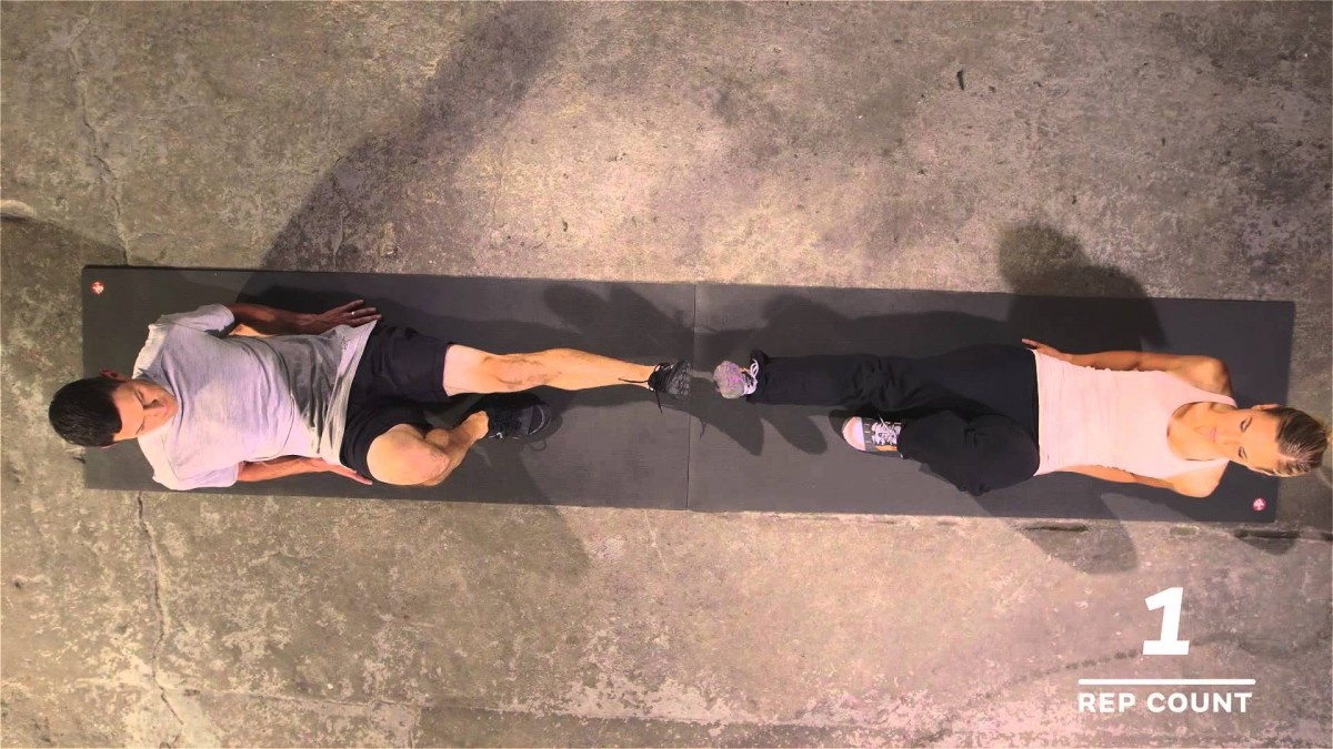 10-Minute Full Body Partner Workout