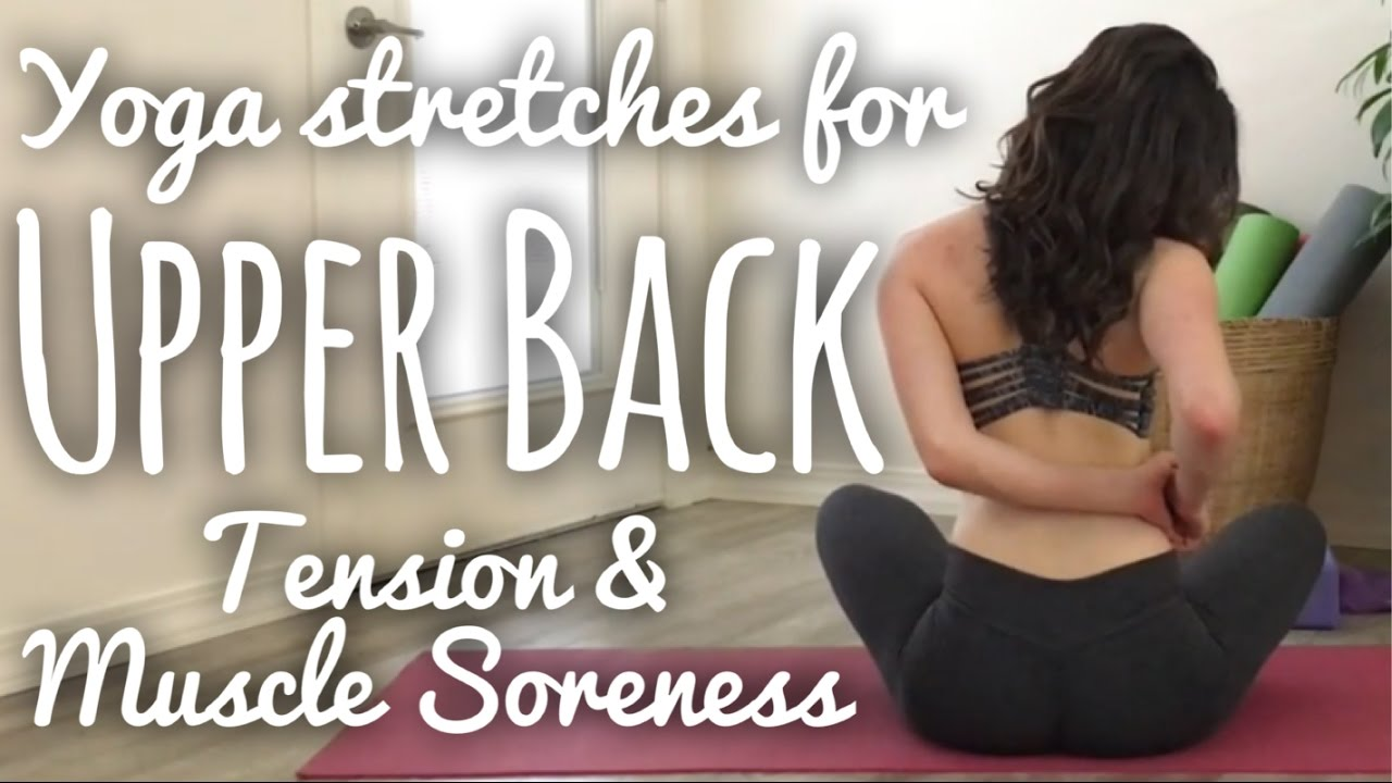 Release Upper Back Tension with Yoga [Flow With Adee]