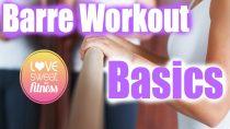 Barre Workout Basics | Barre Bootcamp