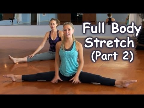 full body stretches how to stretch for beginners part 2